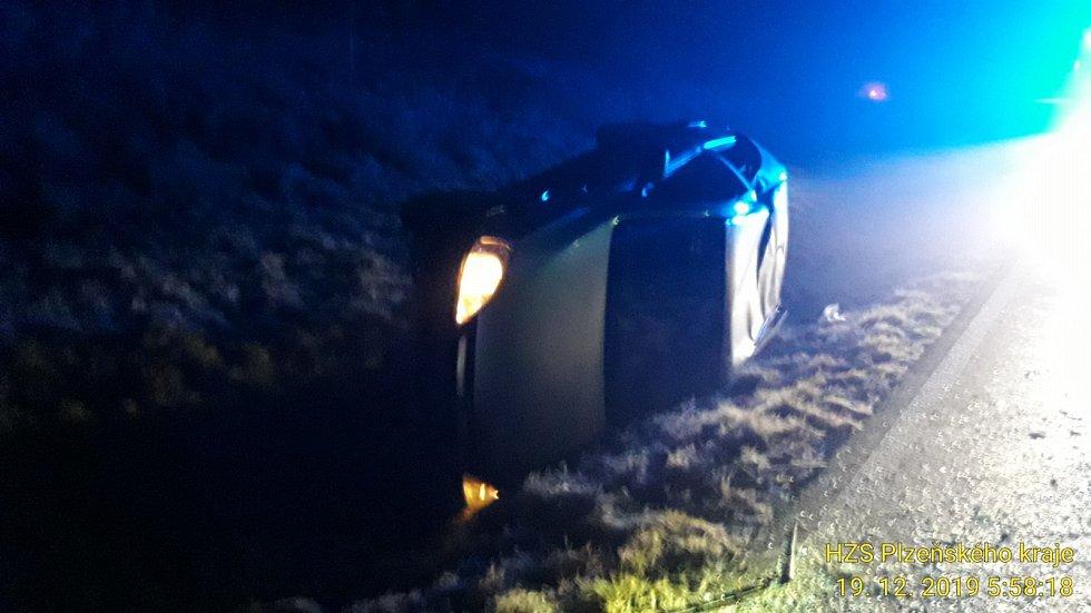 Dopravní nehoda u Bolešin