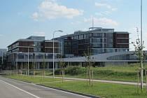 Nové prostory v areálu ZČU na Borských polích v Plzni, kam se stěhuje Fakulta aplikovaných věd.