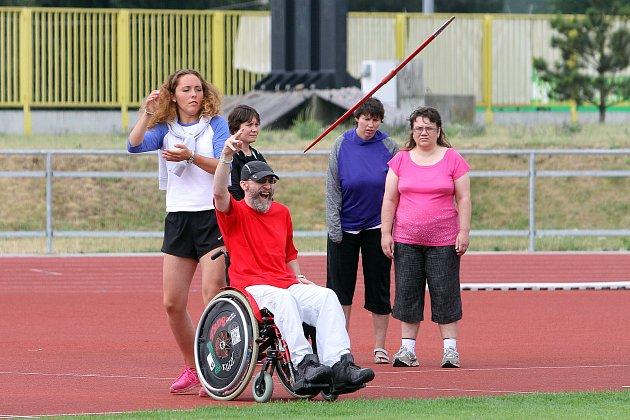 atletika handicapovaní - 2 ročník akce Dáme to - sportovní dopoledne zdravotně postižení
