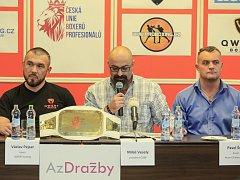 Václav Pejsar (vlevo) a Pavel Šour (vpravo).