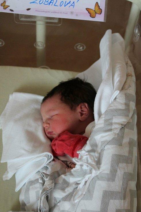 Stella Zobalová se narodila 21. července ve 22:44 hodin (3496 g) ve FN Lochotín. Rodiče Emília a Václav z Plzně si pohlaví svého prvního miminka nechali jako překvapení až na porodní sál.