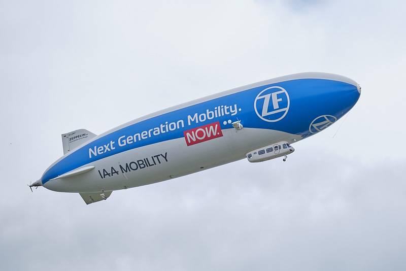Zeppelin od našeho čtenáře.