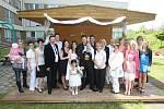 Svatba v nemocnici na hematoonkologickém oddělení.