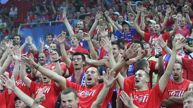 Fanoušci FC Viktoria Plzeň