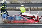 Záběry z místa tragické nehody