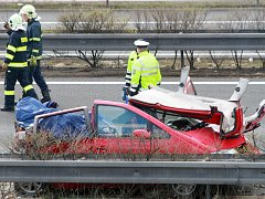Tragická nehoda na dálnici D5