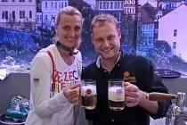 Miloslav Bělský si v Riu přiťukl také s českou tenistkou Petrou Kvitovou, která na olympiádě získala ve dvouhře bronzovou medaili