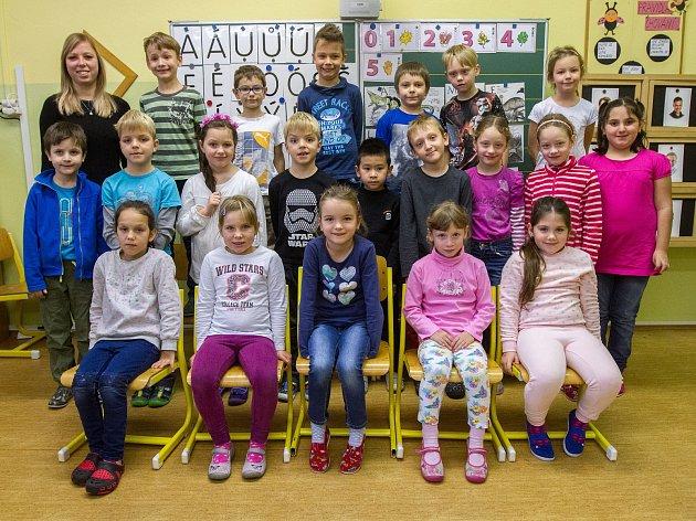 13. ZŠ Plzeň 1.B - třídní učitelka Tereza Psohlavcová