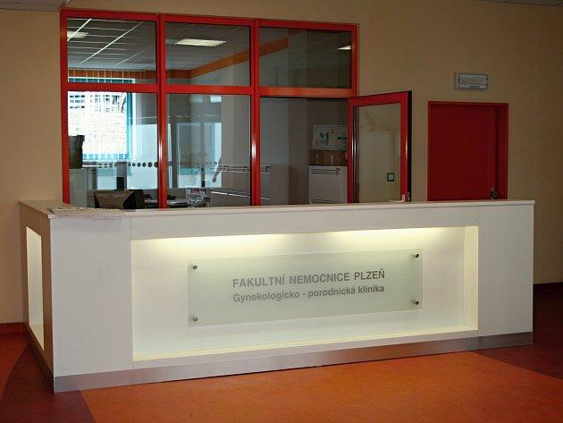 Nová gynekologicko-porodnická klinika ve Fakultní nemocnici vPlzni.