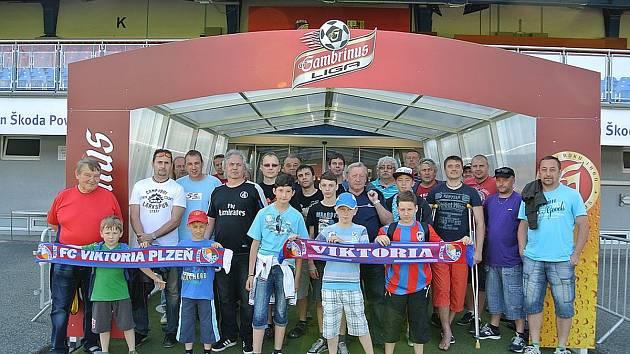 Slavia Kakejcov se podívala do útrob stadionu FC Viktoria Plzeň