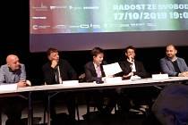 Tisková konference ke koncertu Radost ze svobody