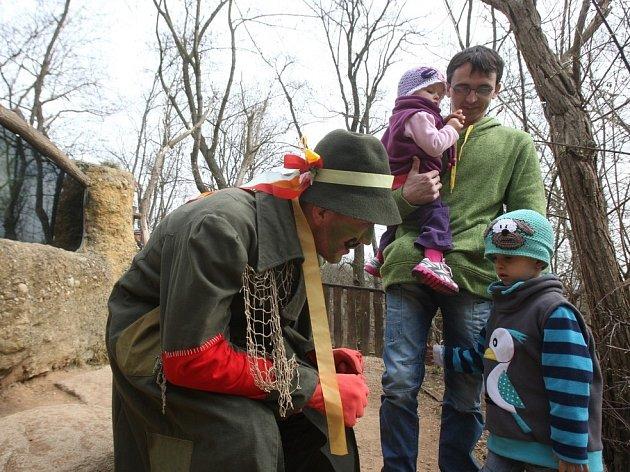 Symbolické odemčení expozice Česká řeka v plzeňské zoo
