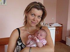 Pětiletá Jituška má radost z narození sestřičky Elišky (3,48 kg, 49 cm), která přišla na svět 28. července ve 3:44 ve FN v Plzni. Z obou holčiček mají radost rodiče Jitka a Petr Šestákovi ze Žerovic