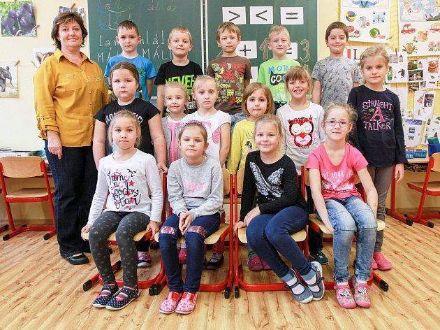 34. základní škola - 1.A - Třídní učitelka Hana Vodičková