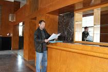 Jan Brčák je správcem budov ZČG, která nově veřejnosti zpřístupnila Semlerovu rezidenci v Plzni na Klatovské třídě