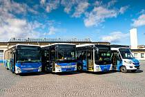 Takhle bude vypadat flotila nových autobusů. Foto:Arriva