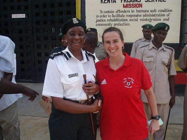 Dagmar Damková v Africe