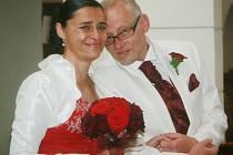 Edita Adlerová a Václav Česák