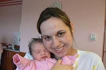 Tereza Bartkowiaková (3,13 kg, 50 cm) z Chlumčan je dcera maminky Ivety a tatínka Tomáše, kteří mají ze své prvorozené dcery velikou radost. Terezka přišla na svět 19. ledna ve 22:13 hod. ve FN vPlzni