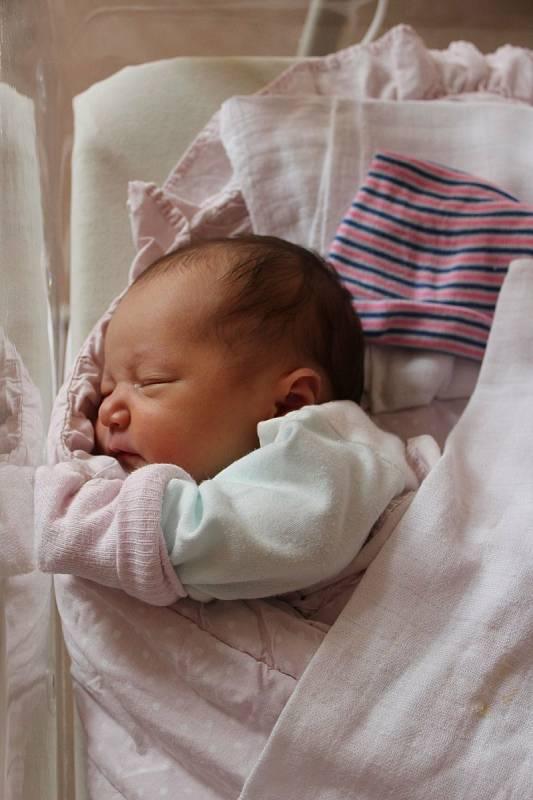 Sofie Beáta Čmolíková (3310 g, 49 cm) se narodila 26. června ve 22:29 ve Fakultní nemocnici vPlzni. Svou prvorozenou dceru společně přivítali rodiče Lucie a Václav z Plzně.