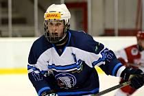 Jakub Pour v této sezoně odehrál čtyři zápasy za starší dorost, jinak už ale nastupuje za juniory.
