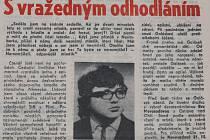 12. června 1970 Pravda otiskla podrobnosti z vyšetřování únosu.