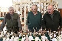 Myslivecké dny v Manětíně lákají na největší přehlídku srnčích, jeleních, mufloních i daňčích trofejí v Plzeňském kraji.
