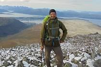 Třiadvacetiletý poutník Tomáš Kadlec vyrazil z Plzně na norský mys Nordkapp.