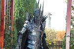 Kostým Saurona.