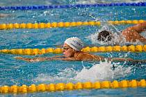 Kristýna Horská. Foto: Vysokoškolské sportovní centrum – plavání