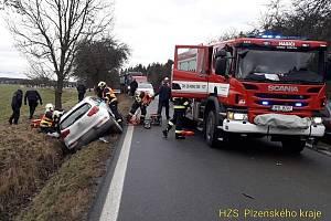 Nehoda mezi Nekmíří a Kokořovem