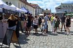 Gastrofestival Street Food Plzeň v pivovaru Prazdroj.