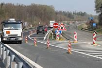 Přivaděč od Klatov je od dobřanské křižovatky až k odbočce na D5 ve směru do Plzně uzavřený