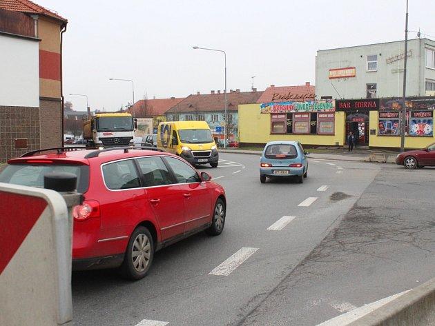 Křižovatka ve Stodě se změní na kruhový objezd