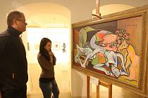 Západočeská galerie v Plzni vystavila ve středu díla Emila Filly