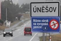 Severoplzeňský Úněšov je jednou z osmadvaceti obcí v kraji a šesti set obcí v republice, které protestovaly