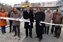 Slavnostní otevření zrekonstruovaného Denisova nábřeží