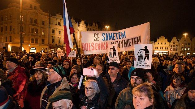 Protest proti Ondráčkovi