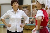 Věra Řežábová více než 35 let vede taneční klub TK IMPRO