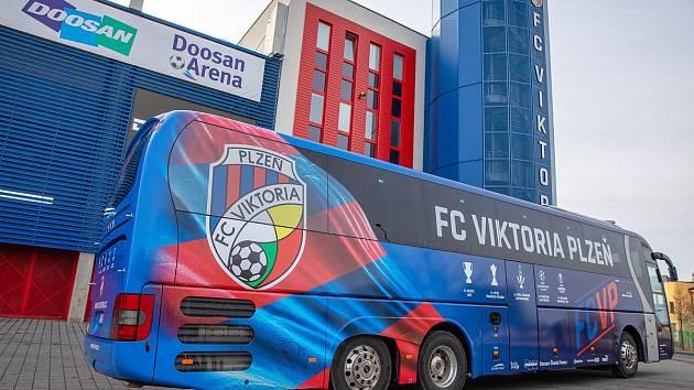 Nový autobus Viktorie Plzeň
