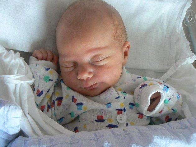 Na Terezku (3,20 kg, 49 cm), která se narodila Janě a Janu Duchkovým z Vochova, doma čeká už osmiletý bráška Martin. Holčička přišla na svět 2. 8. minutu před sedmou hodinou večer ve FN v Plzni