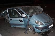 Vážná nehoda na Karlovarské třídě
