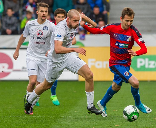 FC Viktoria Plzeň hostila na domácím stadionu 1. FC Slovácko