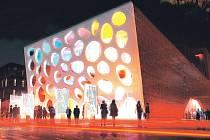 Vizualizace nového divadla v Plzni