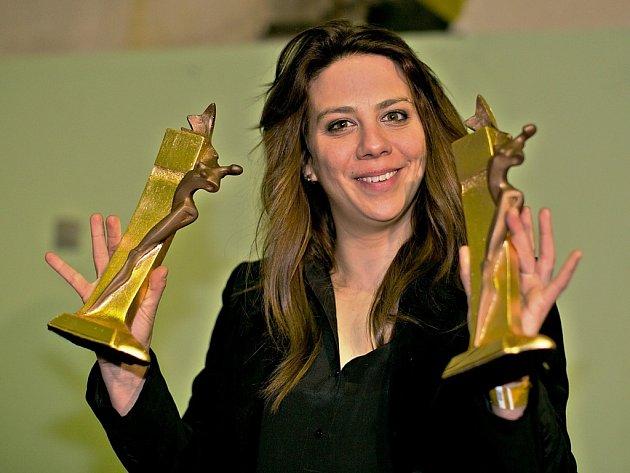 Aneta Langerová se stala se zpěvačkou roku 2014 a zvítězila i v kategoriích Album a Skladba