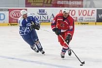 Vyvrcholením oslav osmdesáti let plzeňského hokeje bylo i utkání nejlepších plzeňských hokejistů s bývalými reprezentanty.