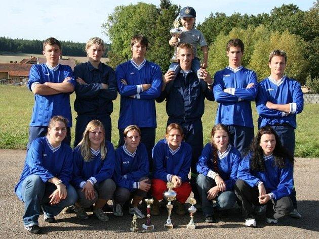 Vítězná družstva SDH Letiny