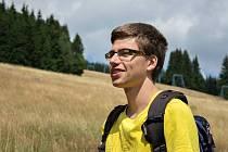 Jan Holubec (na snímku) a jeho kamarádka Daniela Kovandová ušli za 24 hodin 100 kilometrů.