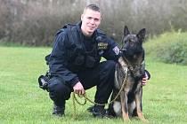 Oceněný policista: Záda mi kryje pes