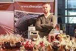 Na Čokofestu se představilo několik desítek prodejců čokoládových dobrot.